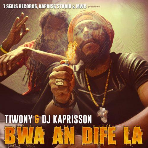7 seals records, Kapris'studio & Mostwantedcorp présentent « Bwa An Difé La » la nouvelle mixtape de TIWONY mixé par Dj Kaprisson