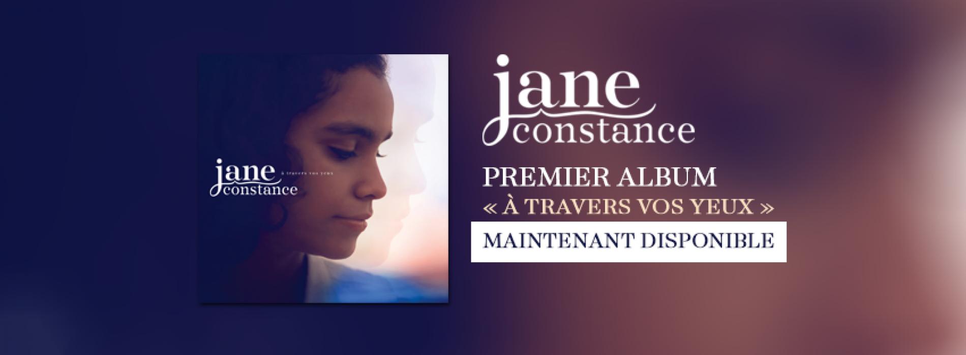 """CLK Découverte : Jane Constance, et son premier album """"A travers vos yeux"""" (The Voice Kids 2)"""