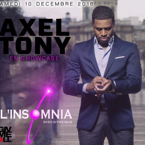 "Regarde le dernier clip de AXEL TONY –  ""Mwen Lov"" – Février 2017"