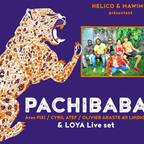 Le jeudi 9 mars LA BOULE NOIRE pour le tout 1er concert parisien de Pachibaba !  Avec Cyril Atef François-Xavier Bossard #FIXI LiNDiGo Mawimbi Loya .. Chaleur sur le dance floor !