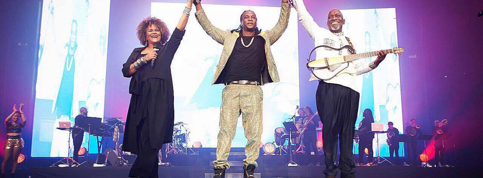 Le 15 avril le chanteur guadeloupéen ADMIRAL T a brulé Bercy . Découvre son clip -«Marchands de sable»- Avril 2017