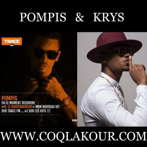 """Écoute les titres de POMPIS -""""Negan""""- et KRYS – Légende (Audio Officiel) – Mai 2017"""