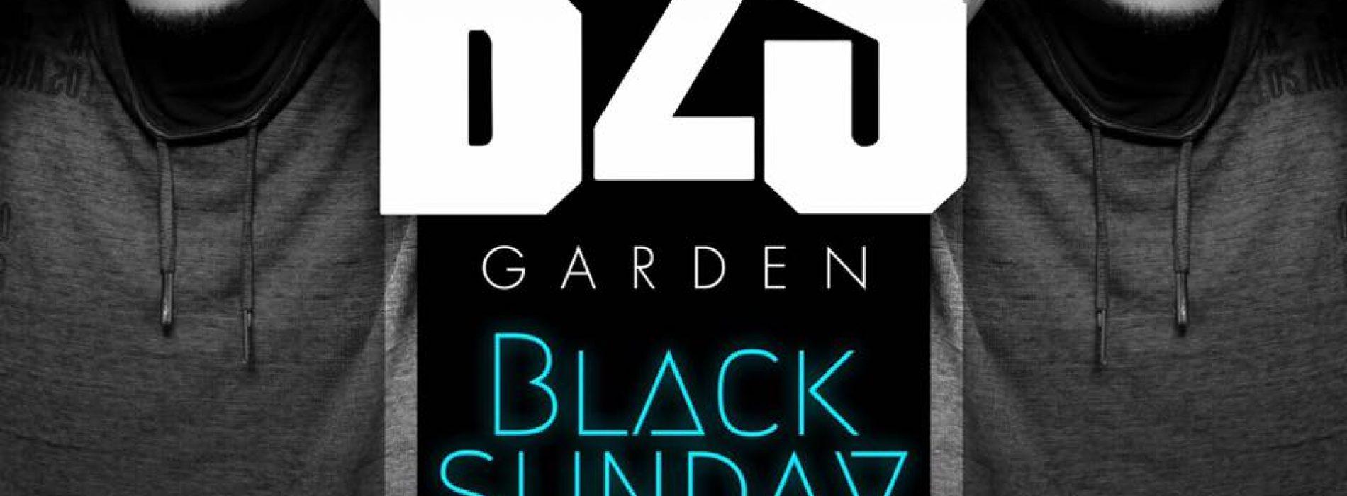 B2S GARDEN -BLACK SUNDAY ►DIMANCHE 03 SEPT ► Du très bon son, des entrées gratuites et une ambiance hors-du-commun mêlant Hip-Hop & son chauds caribéens