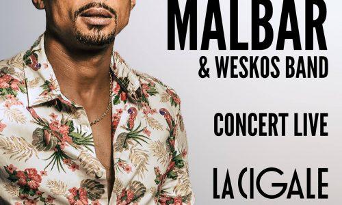 Événement à venir KAF MALBAR et les Weskos Band seront en concert LIVE à la Cigale Paris le 16 Septembre 2017 à partir de 20H.