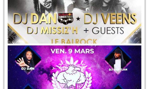 COQLAKOUR te donne rendez-vous le 24 Février à PARIS ( AU BALROCK )  et le 09 Mars à MONTPELLIER (L'ENTREPÔT COMPLEXE ) – 2018