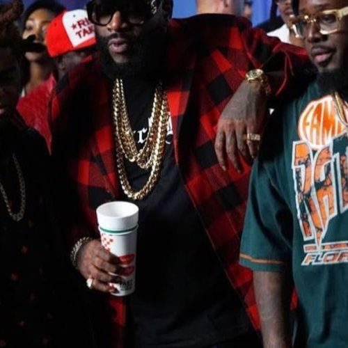 RICK ROSS & T-PAIN, KODAK BLACK le Clip – Florida Boy- Février 2018