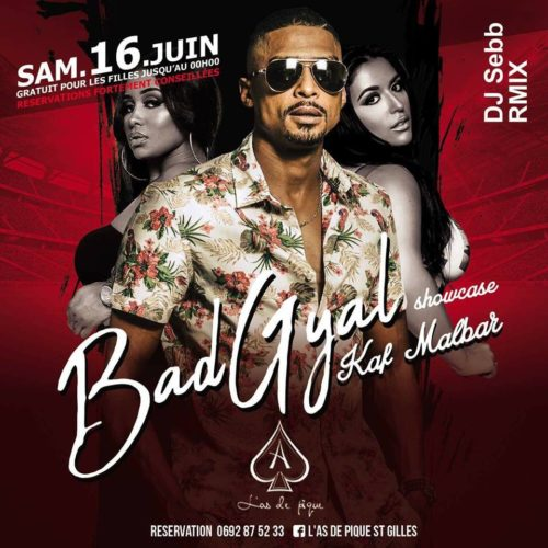 KAF MALBAR concert  – l'As de Pique St Gilles 16 JUIN 2018