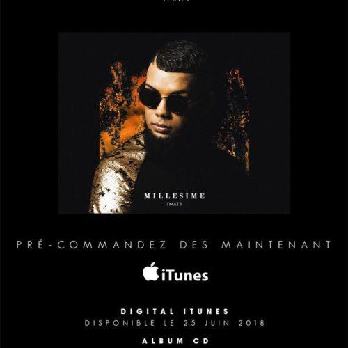 T-MATT, de retour avec un nouvel album 🔥 MILLESIME 🔥 . Juin 2018