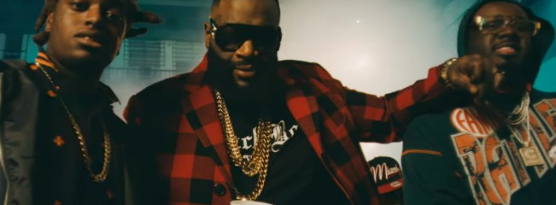 RICK ROSS feat FUTURE – Green Gucci Suit – Juillet 2018