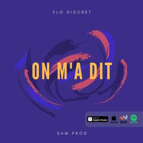 """FLO DISCRET (974) de retour avec le titre """"On m'a Dit"""" – [Video Lyrics] [Beat By Mantra] – Septembre 2018"""