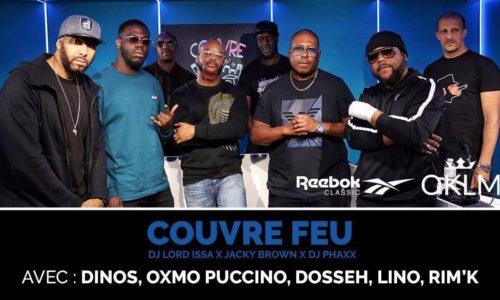 Oxmo Puccino, Lino, Rim'k, Dosseh et Dinos – #CouvreFeu – Reebok Megastore – Octobre 2018