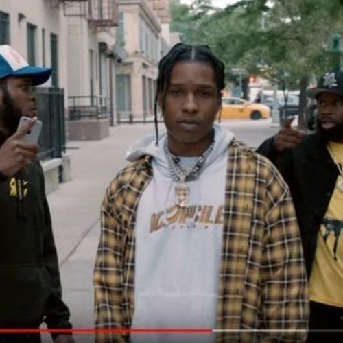 A$AP Rocky – Tony Tone (Official Video) – Décembre 2018