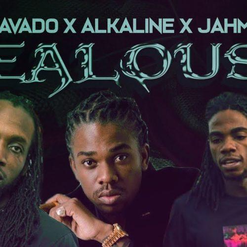Alkaline, Mavado & Jahmiel – Jealousy (Cover Video) – Juin 2019