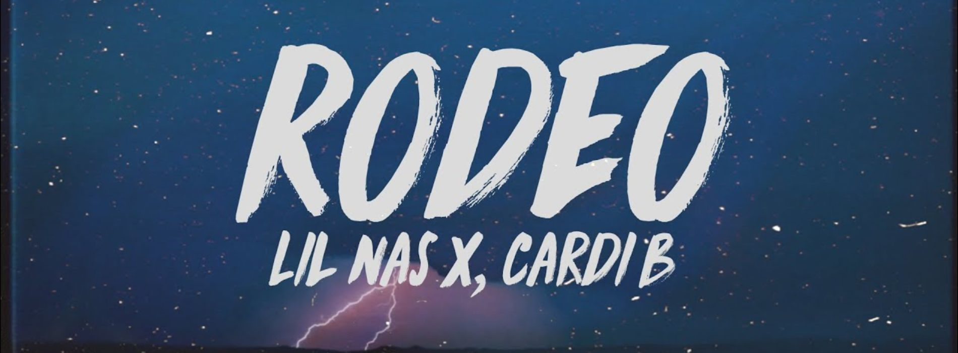 Lil Nas X, Cardi B – Rodeo (Official Audio) – Juin 2019