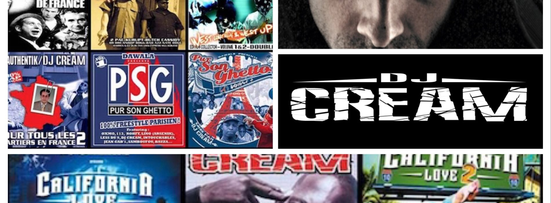 Découvre les remix et production de DJ CREAM – Août 2019