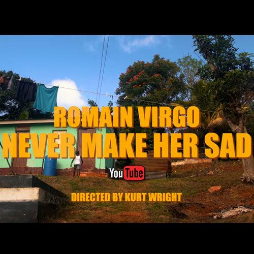 Romain Virgo – Never Make Her Sad (Official Music Video) – Décembre 2019