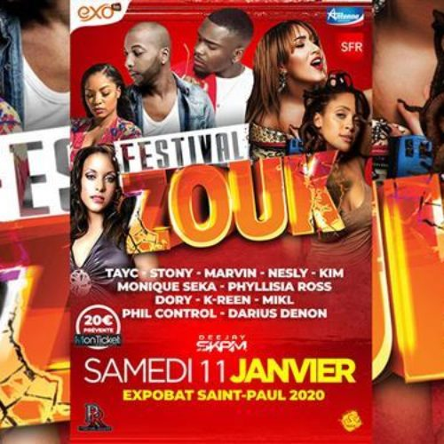 FESTIVAL ZOUK 10 ans By Dj Skam – Janvier 2020 / 30 min de video