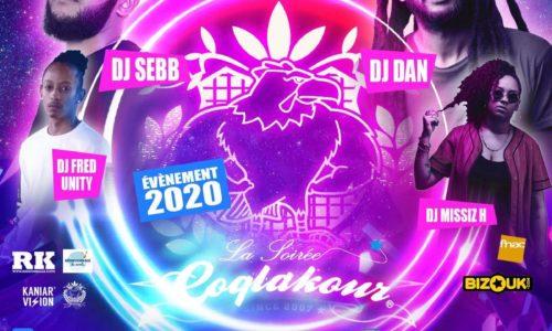 La Soirée COQLAKOUR samedi 22 Fevrier 2020 au REDLIGHT PARIS – Avec DJ SEBB / DJ DAN / DJ MISSIZ H / DJ FRED UNITY .