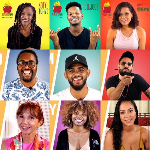 Découvre la chaîne Piment Cabri sur YouTube, d'info-divertissement 100% réunionnaise ! Interviews, reportages, sketchs… Piment Cabri, la chaîne qui pouak ! – Janvier 2020