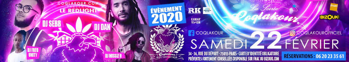 Soirée Coqlakour 22 Février 2020