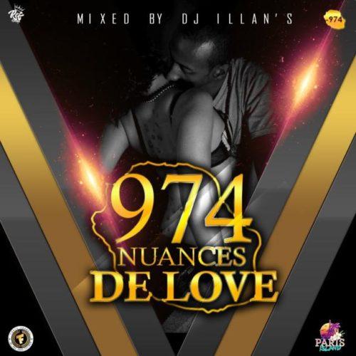 DJ ILLAN'S – 974 NUANCES DE LOVE – Avril 2020