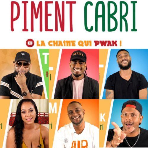 Découvre la chaîne Piment Cabri sur YouTube, d'info-divertissement 100% réunionnaise ! Interviews, reportages, sketchs… Piment Cabri, la chaîne qui pouak ! –  Avril 2020