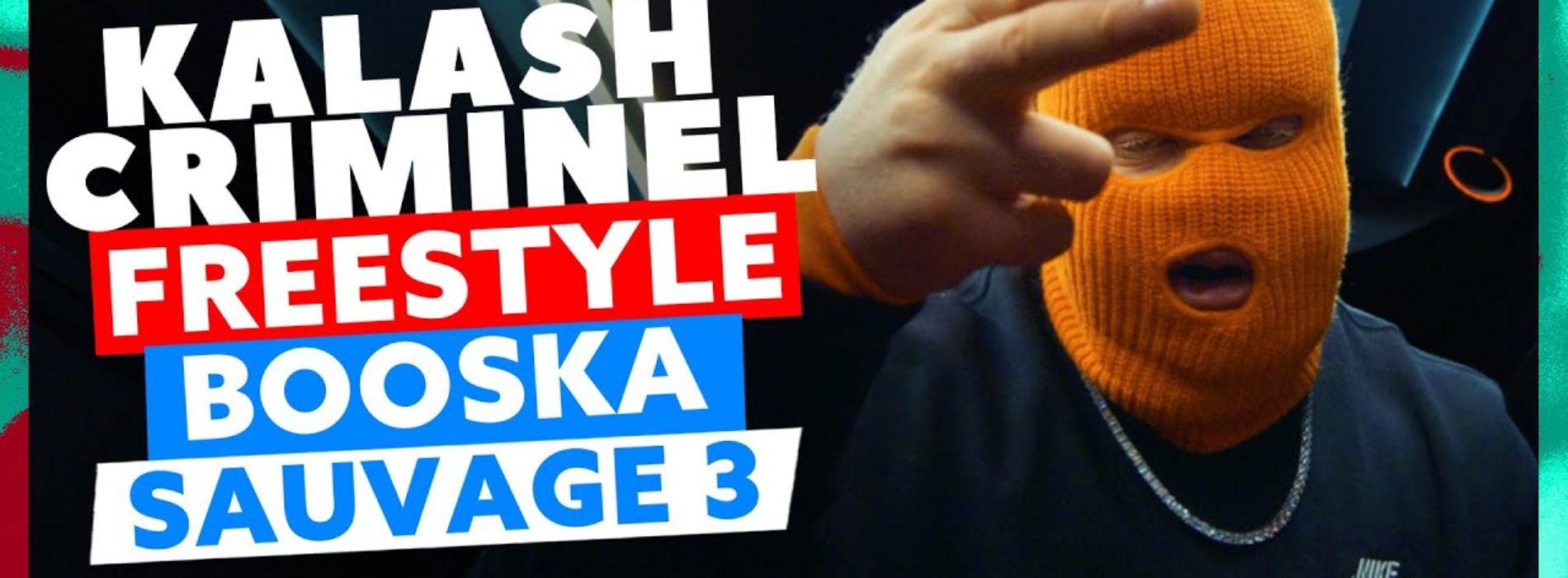 Kalash Criminel, l'interview par Mehdi Maïzi //  Freestyle Booska Sauvage 3 – Novembre 2020