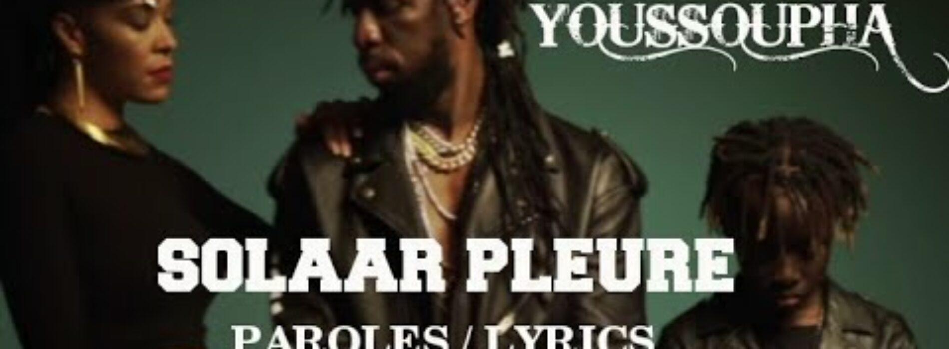 Youssoupha – SOLAAR PLEURE (Clip officiel) – Février 2021