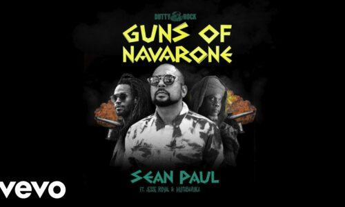 Stonebwoy, Sean Paul, Jesse Royal, Mutabaruka – Guns of Navarone (Official Music Video) – Avril 2021