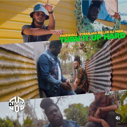 """DJ MIMI  feat MARSHALL & STRANJAH MILLER – """"Turn it up hard"""" (Clip Officiel) – Juillet 2021🔥🎶🇯🇲🎵🇷🇪🎶🔥"""