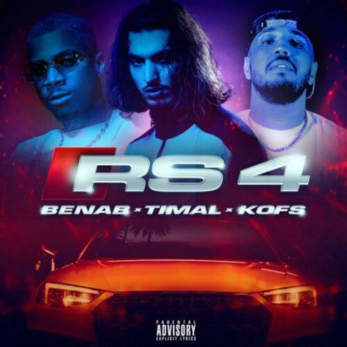 Benab – RS4 feat. Timal & Kofs (Clip officiel) – Août 2021