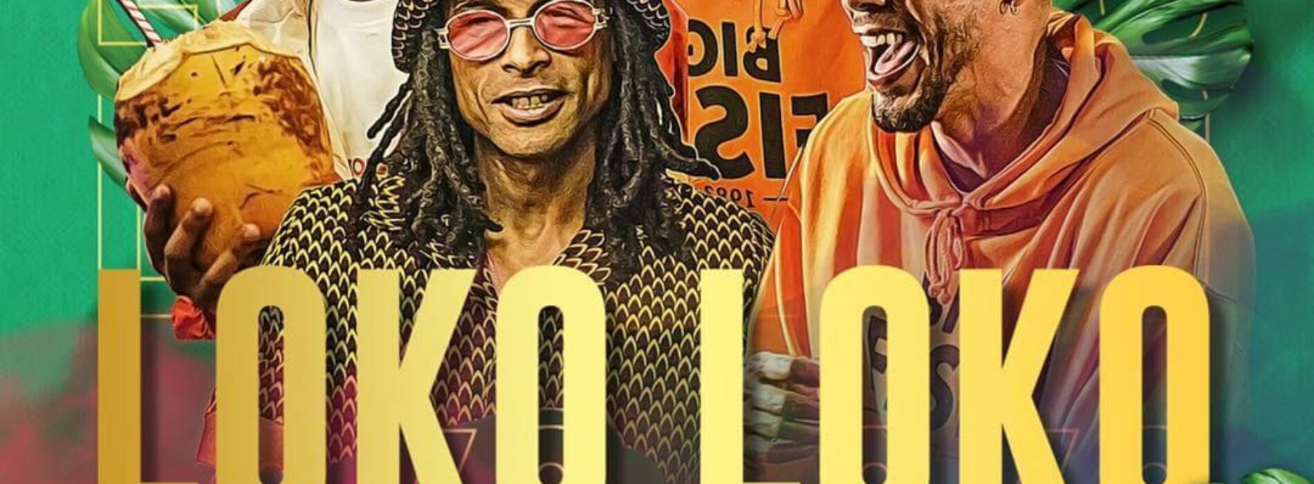 "Guillaume Hoarau , Kaf Malbar , Wizdom , DJ Mimi -""Loko Loko"" (Clip Officiel) – Septembe 2021💪🏾👌🏾🔥🇷🇪🇷🇪"
