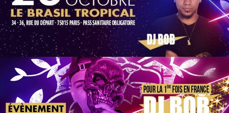 DJ BOB seras présent pour la 1ère fois en FRANCE , à la SOIREE COQLAKOUR du 23 octobre 2021 pour un mix de folie – Octobre 2021