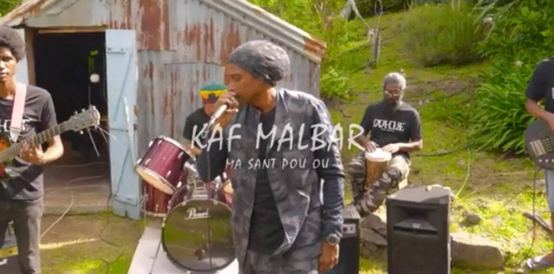 KAF MALBAR – «Ma sant'pou ou « (clip officiel)- Octobre 2021🇷🇪💚💛❤️